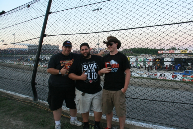 With my son and a friend at Eldora in 2013